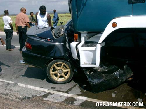 Фоторепортаж с аварии