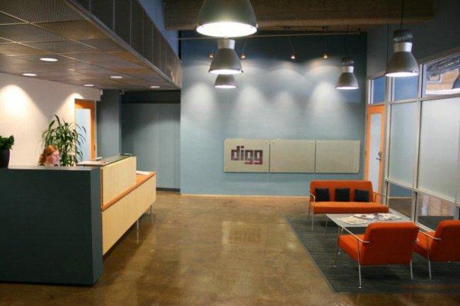 Офис Digg.com (18 фото)