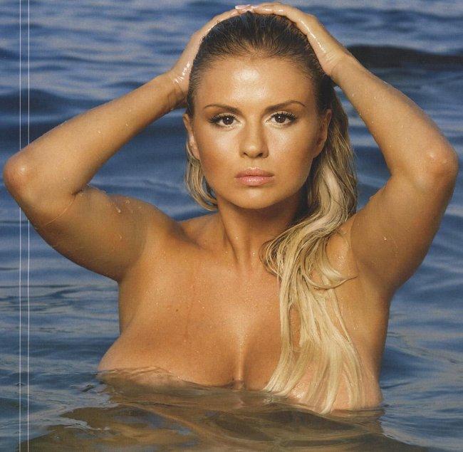 Анна Семенович в октябрьском номере MAXIM (6 фото)