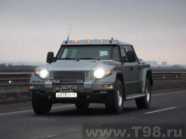 Новое творение Российского автопрома (40 фото)