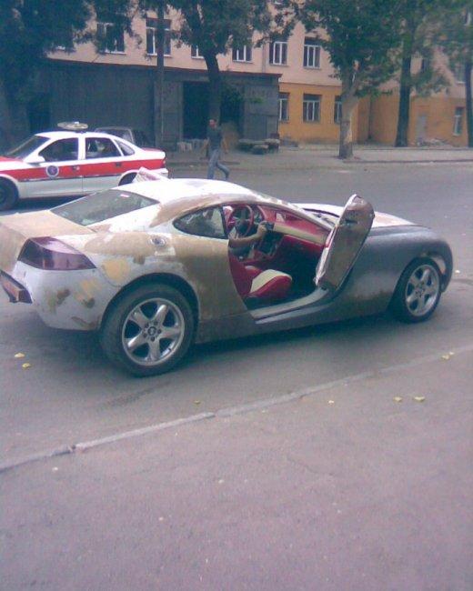 Машина своими руками (9 фото)