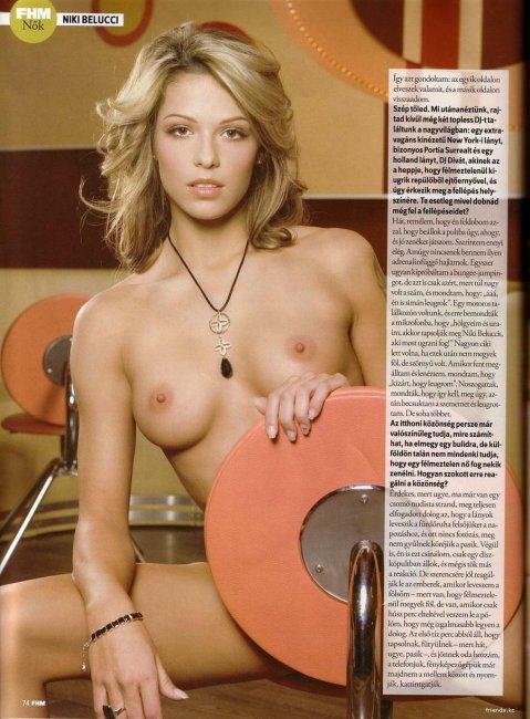DJ Niki Belucci в журнале FHM (7 фото)