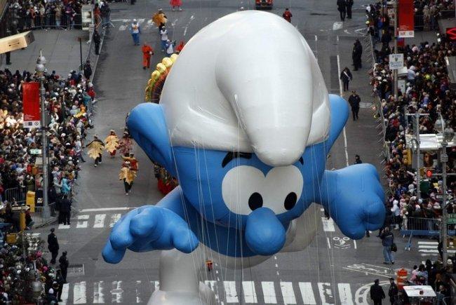 День благодарения в Нью-Йорке (9 фото)