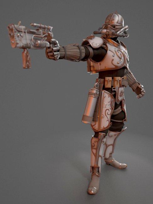 Звездные воины в 3D (11 фото)