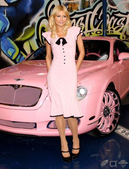 Bentley для блондинки (23 фото)