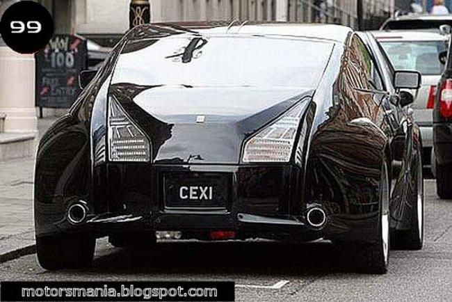 Спортивный Rolls Royce (10 фото)