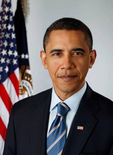 Отфотожабили официальный портрет Обамы (20 фото)