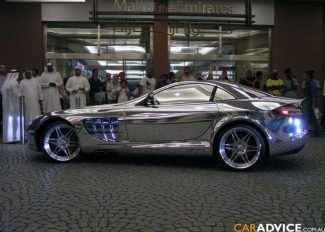 Золотой Mercedes. На этот раз белое золото (3 фото)