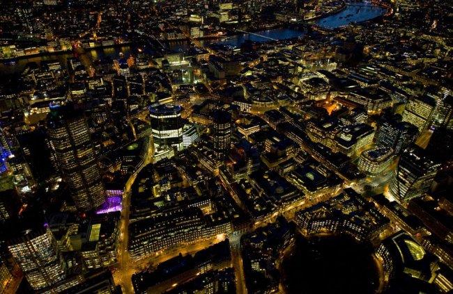 Красивые большие фотографии ночного Лондона (24 фото)