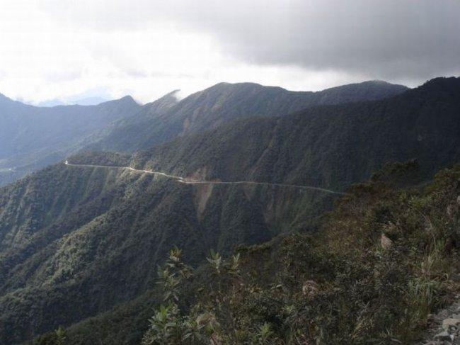 Дорога смерти в Боливии (25 фото)
