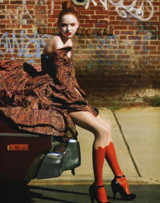 Потолстевшая супермодель Лили Коул (20 фото)