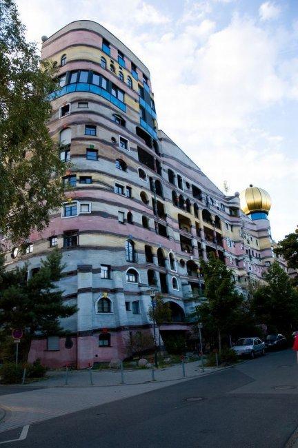 Лесная спираль - очень необычное здание (12 фото)