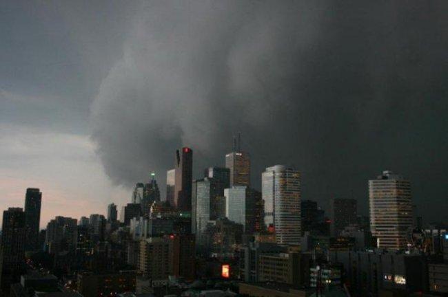 Непогода в Канаде (26 фото)