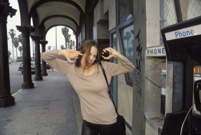 Анджелина Джоли 15 лет назад (16 фото)