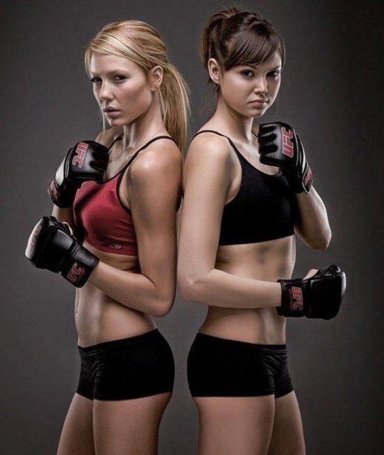 Девушки-боксерши, это так сексуально!!! (51 фото)
