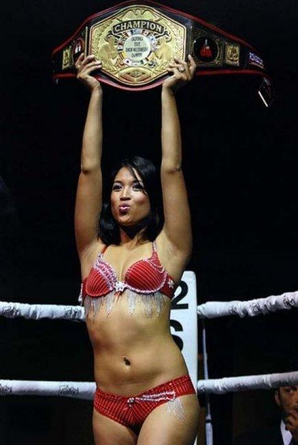 Красавицы на ринге (57 фото)