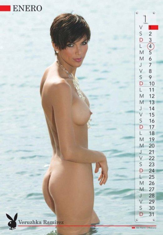 """Венесуэльский календарь """"Playboy-2010"""" (13 фото)"""