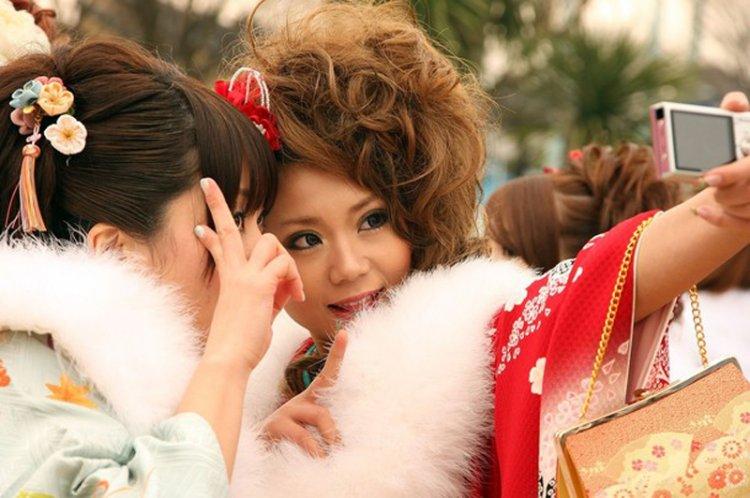 День совершеннолетия в Японии (18 фото)